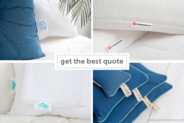 Pillow Labels