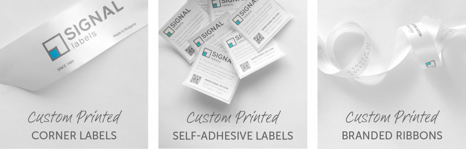 Custom Printed Fabric Labels for Home Textiles
