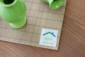 Small size textile sticker