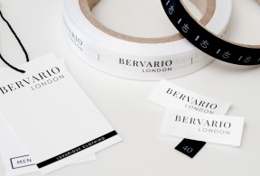 Brand labels for clothing