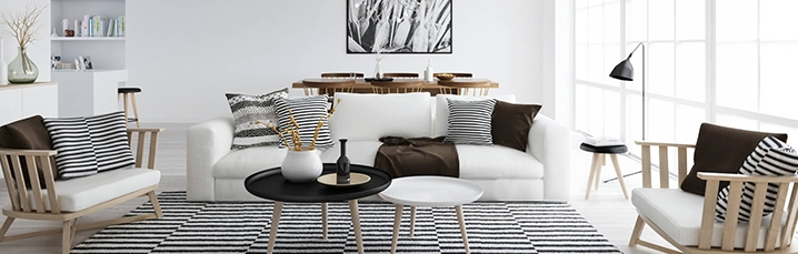 Nordic Style Home decor and textiles. Inspiration and places to shop