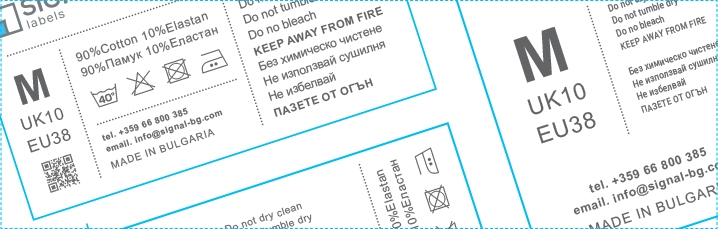 Typography tips and guides for designing Custom printed fabric labels