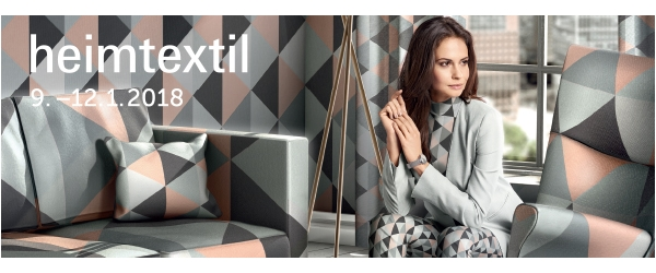 Heimtextil 2018 - you are invited